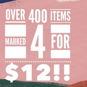Loads of jewelry—4 for $12!!!!
